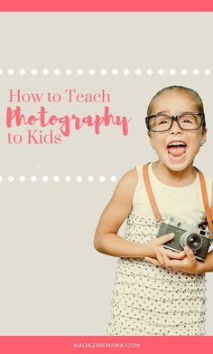 The world is a completely different place through the eyes of a child. They pick up on the tiny details that many adults never see, which is why teaching children all about photography can be such a rewarding experience.  This curriculum bundle provides everything you need to get started teaching photography to kids. #teachphotography #teachphotographytokids