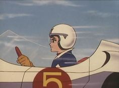 Here he comes! Here comes Speed Racer!
