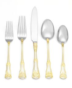 Royal Albert 65-piece flatware set — bring something elegant to the table