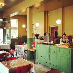 Breakfast & lunch restaurant Jacques Jour in Café Modern #Amsterdam-Noord; Instagram photo by @Marjan Ippel (Marjan Ippel)