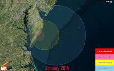Three Terrier-Orion suborbital rockets are scheduled for launch between 1 and 5 a.m. EST January 14 for the Department of Defense from Wallops' launch range. The rockets, which will be launched within a 20-second period, may be visible to residents in the mid-Atlantic region.