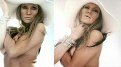 Filtran fotos inéditas de Jennifer López sin photoshop  Recientemente trascendieron en la web imágenes inéditas de Jennifer Lopez que muestran a la cantante con el torso desnudo y sin retoques de Photoshop. Un suceso un tanto inusual cuando de producciones fotográficas de famosas se trata.