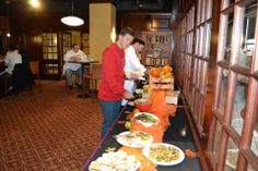 Thanksgiving Buffet held in the Academic Bistro