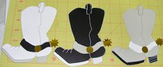 In My World . . .: Paper Piecing: Cowboy Boot