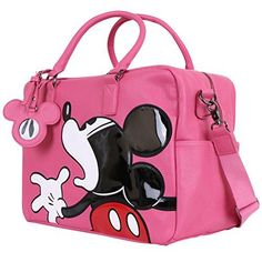 Disney Vintage Mickey Mouse Oversized Casual Travel Tote Luggage Duffel Bag >>> Continue to the product at the image link. Disney Tote Bags, Disney Luggage, Disney Handbags, Disney Purse, Vintage Mickey Mouse, Minnie Mouse, Disney Mickey Mouse, Fashion Handbags, Purses And Handbags