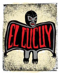 El-Cucuy man's cartoon,