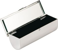 Personalised Silver Plateds Lipstick Case
