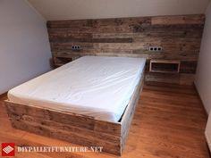 Mueblesdepalets.net: Fantástica cama hecha con palets