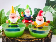 Garden Gnome Soap Handmade Glycerin Soap by EmeraldHollow on Etsy, $4.00