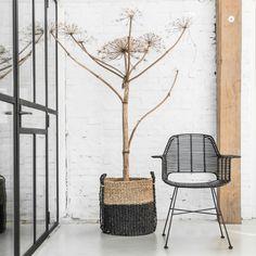 WIRE chair from Hk living. www.wonetmetlef.nl