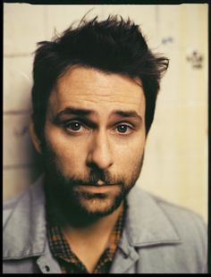 """Charlie Day plays illiterate, dirty and sexy Charlie Kelly on """"It's Always Sunny in Philadelphia"""" Charlie Day, Charlie Kelly, Beautiful Boys, Pretty Boys, Beautiful People, It's Always Sunny, Men Photography, Funny People, Funny Guys"""
