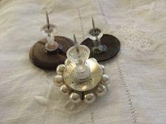 Back of embellished push pins ~ I am SO making these!