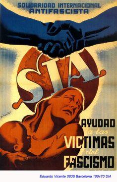 Spain - 1936. - GC - poster - Eduardo Vicente