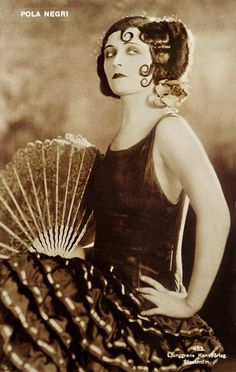 "shhme:    Pola Negri   ""The Spanish Dancer"", 1923."