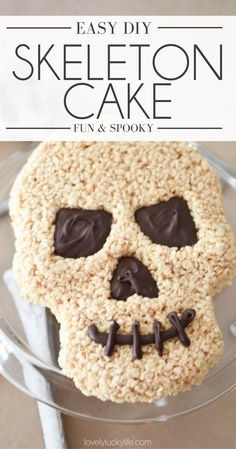 this skeleton cake m
