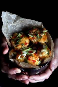 Bang Bang Cauliflower by olivesfordinner #Cauliflower