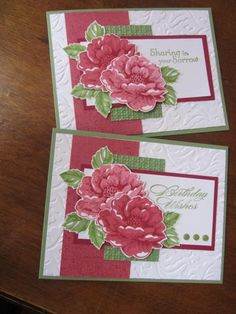 Image result for stampin up stippled blossoms card ideas