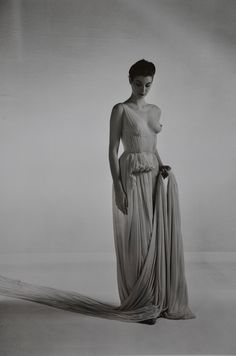 Madame Grès tissu: crepe de soie