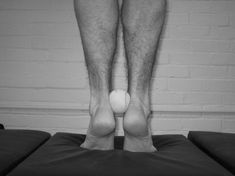 """Heels Up"" raise exercise for posterior tibialis strengthening"