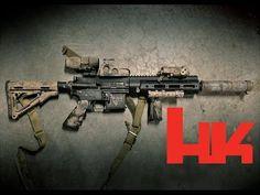Heckler & Koch HK416 - YouTube Find our speedloader now! http://www.amazon.com/shops/raeind