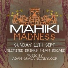 On Sunday, September 11th 2016, Mahiki Dubai invites you to Mahiki Madness Industry Night. Our Hunks and Honeys can finally lay back and be rewarded after a long weekend when we open the doors this Sunday to our Tiki Paradise and present our very popular Industry Night!  Mahiki Dubai Jumeirah Beach Hotel,  For bookings contact Layla Mahiki on +971552160181 www.mahiki.ae