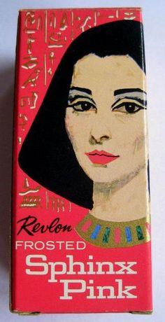 Revlon Sphinx Pink nail polish, 1962