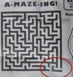 The designer of this maze.