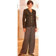 Butterick Sewing Pattern 4328 Misses' Top Pants by PatternWalk