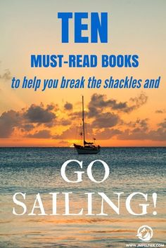 🔷🔷🔷 Get a cruise 🚢🚢🚢 for half price or even for free!🌎🌎🌎klick for more details.✔✔✔ Looking for inspiration to ditch life on land for a rewarding life at sea? These sailing books were my inspiration and can be your as well. Sailing Girl, Sailing Ships, Sailing Catamaran, Ocean Sailing, Sailing Outfit, Sailboat Living, Living On A Boat, Sailing Books, Liveaboard Sailboat