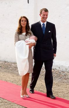 Princess Marie - The Royal Christening Of Prince Of Denmark