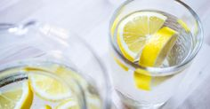 We all know that drinking lemon water in the morning is good for our health. But not all of us know the benefits of this method. If you drink warm lemon water on an unfilled stomach you will have lot of health benefits. Lemon Water Before Bed, Lemon Water In The Morning, Warm Lemon Water, Drinking Lemon Water, Lemon Water Benefits, Lemon Health Benefits, Healthy Detox, Healthy Drinks, Healthy Skin