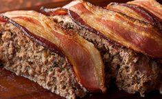 Pastel de carne americano o meatloaf