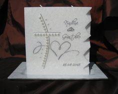 "Hochzeitskerze ""Synfonie"" #hochzeitskerze #wedding #Hochzeit Notebook, Candles, Wax, Crafting, Candy, Candle Sticks, The Notebook, Exercise Book, Candle"