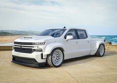 Hate to say this about a Chevy but this thing is dope. Custom Chevy Trucks, Chevy Pickup Trucks, Gm Trucks, Chevrolet Trucks, Diesel Trucks, Cool Trucks, Custom Cars, Chevrolet Silverado, Dropped Trucks