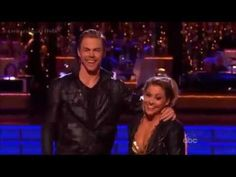 DWTS Shawn Johnson & Derek Hough - KnightRider Bhangra - MJ AllStars Semis - Dancing With The Stars