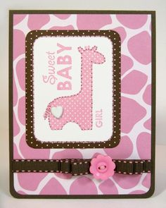 Snippets By Mendi: A Papertrey Ink & Bella Blvd. Baby Card