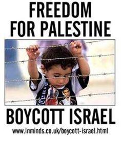 Freedom for Palestine boycott Israel | Anonymous ART of Revolution