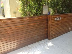 system build a and fence Mid Century Modern Fence Gate beautiful electric system. system build a and fence Mid Century Modern Fence Gate beautiful electric system build a and finished front horizont Modern Driveway, Wooden Gates Driveway, Front Garden, Wooden Gate Designs, Front Yard, Front Gate Design, Sliding Gate, Gate Design