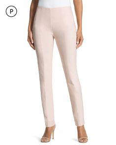 Chico's Women's So Slimming Petite Brigitte Ankle Pants, Sunwash, Size: 00P (2P, XXS)