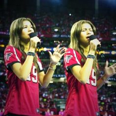 .zendayamaree | Singing that National anthem at the Falcons game, this is amazing, thank you ...