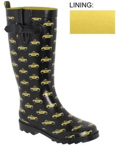 Capelli New York Shiny Taxi Printed With Buckle Gusset Ladies Rain Boot Black Combo 6 Capelli New York,http://www.amazon.com/dp/B0051HB9YS/ref=cm_sw_r_pi_dp_Lx8UrbF5EF284B89