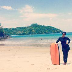 Beach #coatarica #hijab #burkini