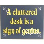 A Cluttered Desk