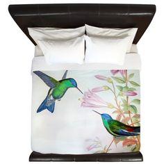Hummingbirds King Duvet