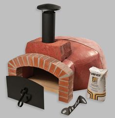 Wood Fired Oven Kit ~ I want this in my BackYard :) for Bread & Pizza
