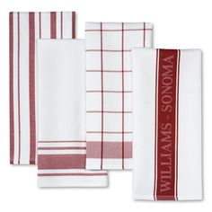 I love the Williams-Sonoma Assorted Kitchen Towels, Set of 4 on Williams-Sonoma.com