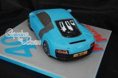 Audi R8 cake back view by bakerlou1, via Flickr