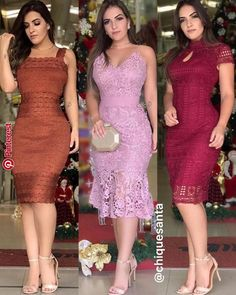 Qual você prefere ? ???? . . . . ✅ Loja Marcada na Foto ✅ | Ropa mujer de los 50. in 2019 | Pinterest | Dresses, Fashion and Fashion dresses