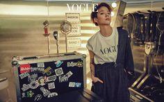 f(x)'s Amber // Vogue Korea