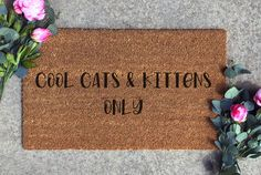 Tiger King Doormat Funny Cool Cats Kittens Welcome Mat Funny Big Cat House Gift Vacation Home Gift Funny Home Decor In 2020 House Gifts Welcome Mats Funny Home Decor